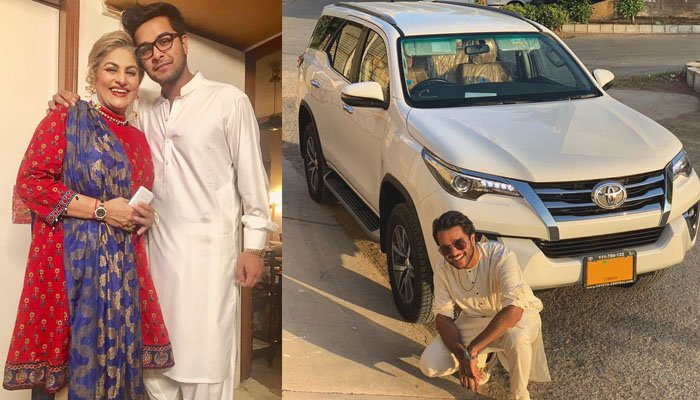 Asim Azhar fulfilled his mother's wish - Pakistan Showbiz