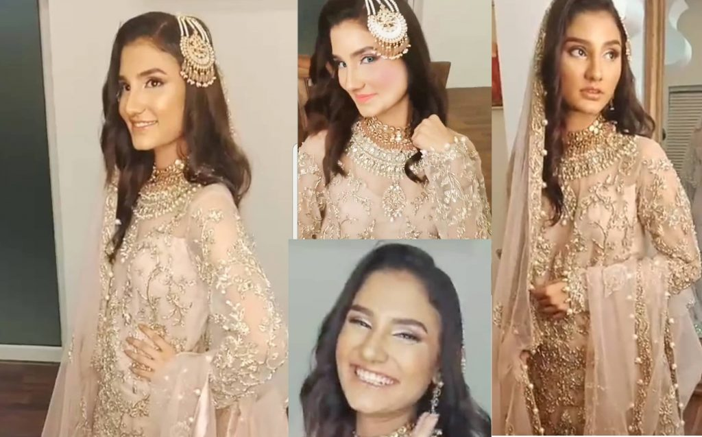 Norma Ali transformed into a ravishing Young bride