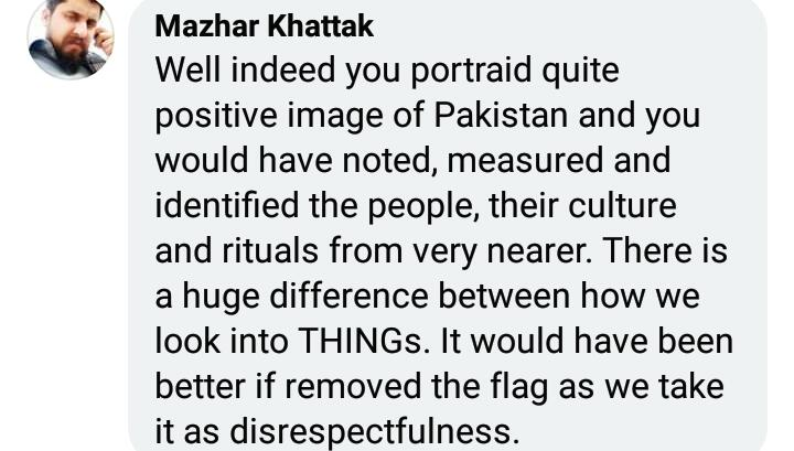 Rosie Gabrielle Receives Hate For Dressing Dog In Pakistani Flag 6